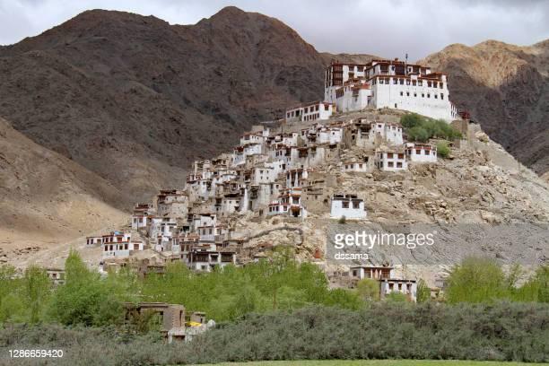 chemrey gompa ladakh, india - religious service stock pictures, royalty-free photos & images