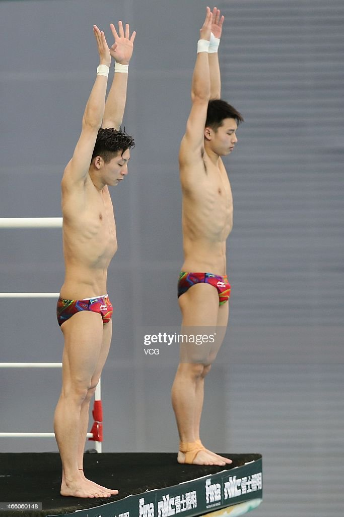 FINA/NVC Diving World Series 2015 - Day 1