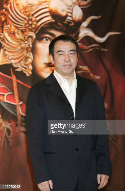 Chen Kaige, director during The Promise Press Screening in Seoul - January 19, 2006 at Shilla Hotel in Seoul, South, South Korea.