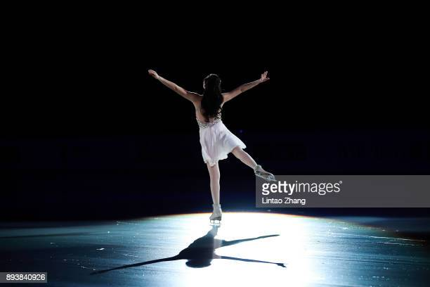 Chen Lu of China performs during the Stars On Ice 2017 China Tour at Beijing Capital Gymnasium on December 16 2017 in Beijing China