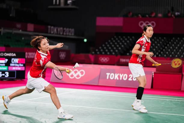 JPN: Badminton - Tokyo 2020 Olympics - Day 10