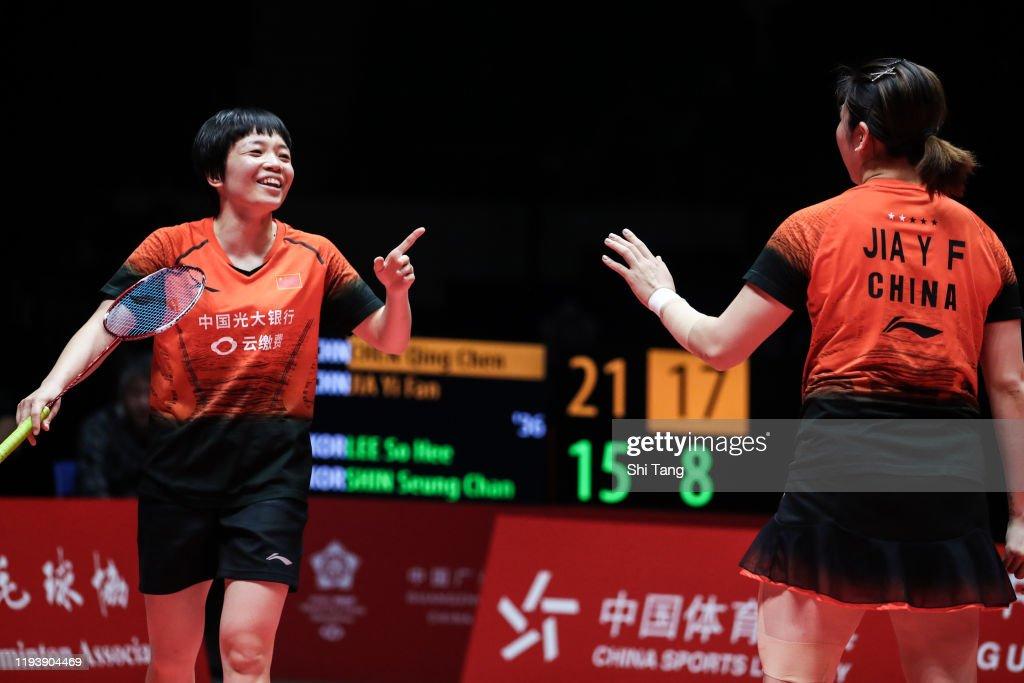 2019 HSBC BWF World Tour Finals - Day 4 : News Photo