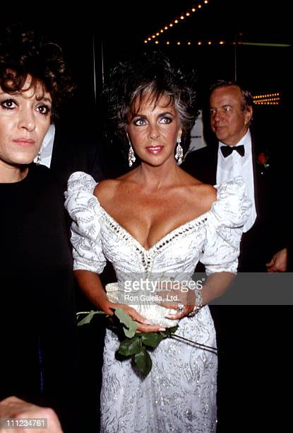 Chen Sam Elizabeth Taylor and Franco Zefferrelli during 12th Annual Beauty Ball Benefiting March Of Dimes at The Waldorf in New York City New York...