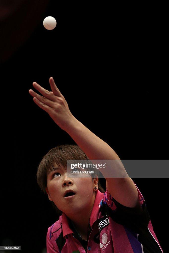 Table Tennis World Tour Japan Open In Yokohama - Day 1