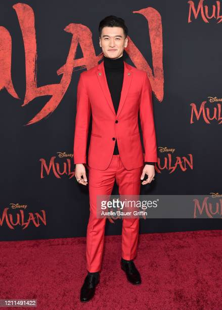 Chen Tang attends the premiere of Disney's Mulan on March 09 2020 in Hollywood California