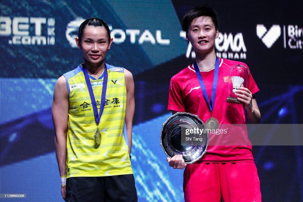 YONEX 2019 All England Open - Finals : News Photo