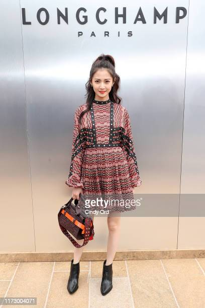 Chen Yuqi attends the Longchamp SS20 Runway Show at Hearst Plaza Lincoln Center on September 07 2019 in New York City
