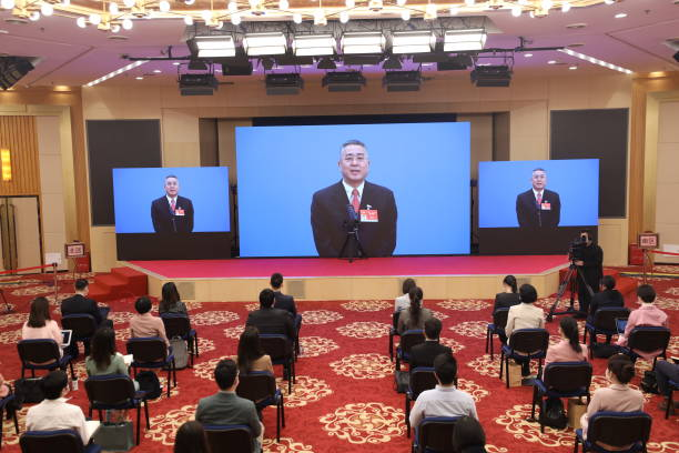 CHN: Chinese People's Political Consultative Conference (CPPCC) - Second Plenary Meeting