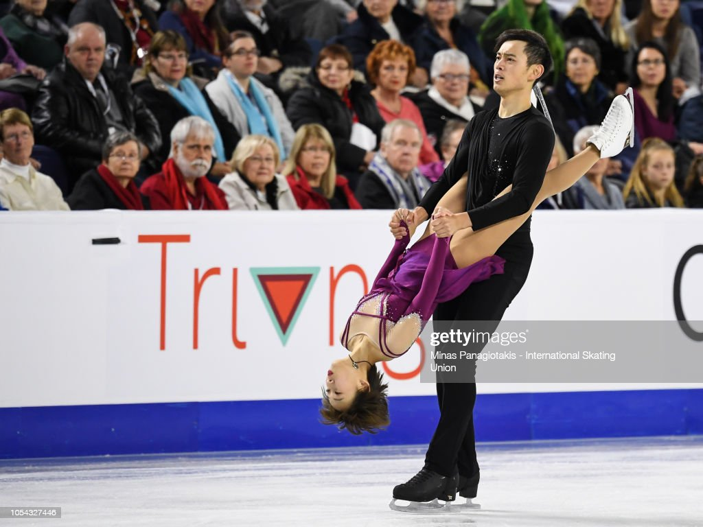 ISU Grand Prix of Figure Skating Skate Canada International : Nachrichtenfoto