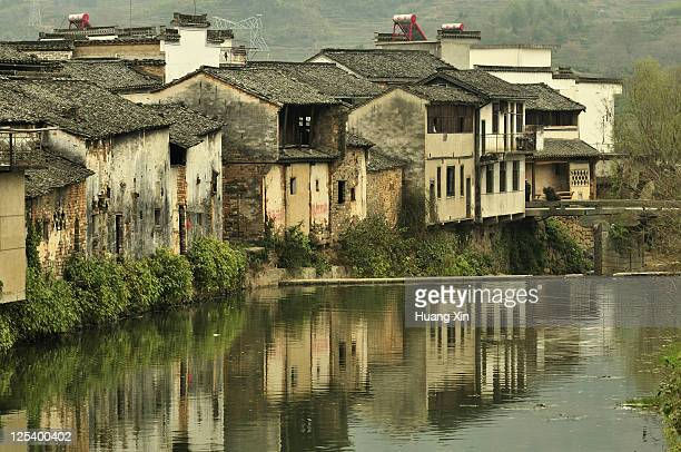 Chengkan village old houses, Huangshan, China