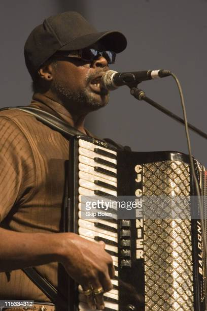 Chenier and the Red Hot Louisiana Band during 38th Annual New Orleans Jazz & Heritage Festival Presented by Shell - C. J. Chenier and the Red Hot...