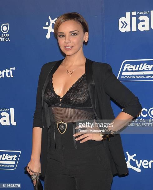 Chenoa attends a photocall for Lo Mejor De Aqui Y De Alli on September 30 2016 in Barcelona Spain
