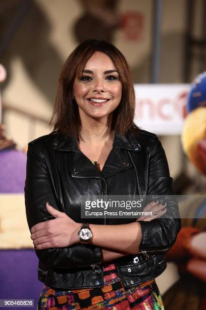 Chenoa attends 'Cavernicola' photocall at Ciencias Naturales National Museum on January 15 2018 in Madrid Spain