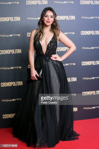 Chenoa attends the Cosmopolitan Awards 2018 at Florida Park on October 18 2018 in Madrid Spain