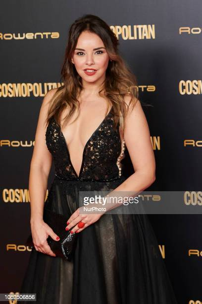 Chenoa attends the Cosmopolitan Magazine Awards 2018 Photocall at 'Florida Retiro' in Madrid on October 18 2018