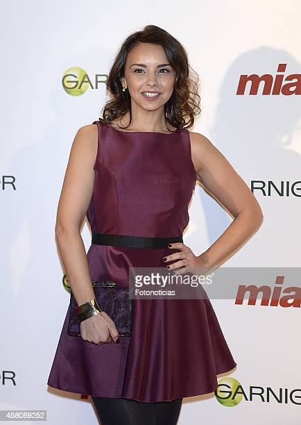 Chenoa attends the 'Cuida De Ti' charity awards ceremony at the COAM on October 29 2014 in Madrid Spain