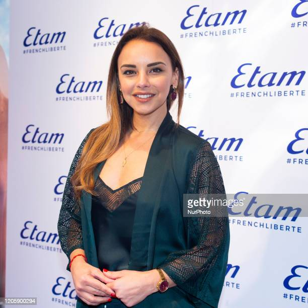 Chenoa attends the ETAM event in Madrid Spain on March 8 2020 Spain