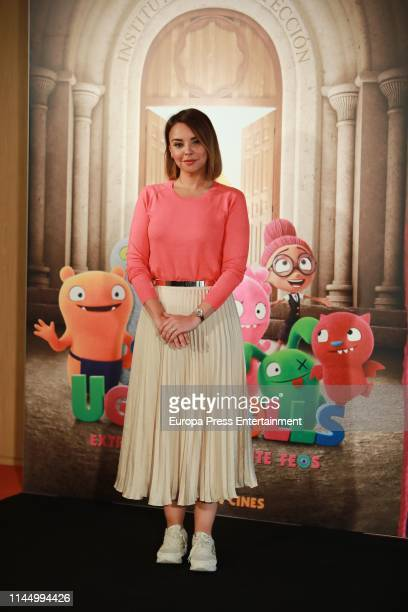 Chenoa attends 'Uglydolls Extraordinariamente Feos' photocall on April 25 2019 in Madrid Spain