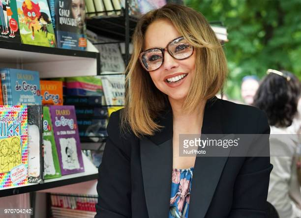 Chenoa during on the occasion of the 77 edition of Madrid's Book Fair at Retiro Park in Madrid Spain 10 June 2018