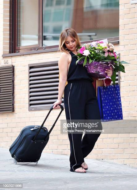 Chenoa is seen the day of her 43th birthday on June 25 2018 in Madrid Spain