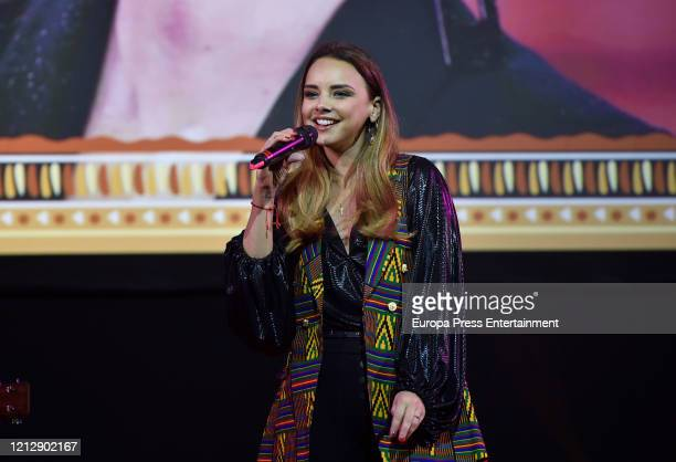 Chenoa perfoms in concert on March 07 2020 in Madrid Spain
