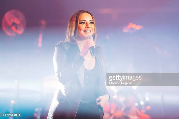 Chenoa performs onstage at Wizink Center during Vive Dial 2019 on September 06 2019 in Madrid Spain