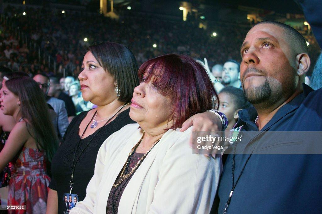 Cheo Felicianos Daughter Michelle Feliciano Cheo Felicianos Widow