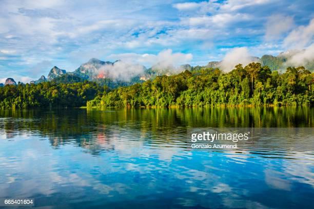 Cheow Lan Lake at  Khao Sok National Park
