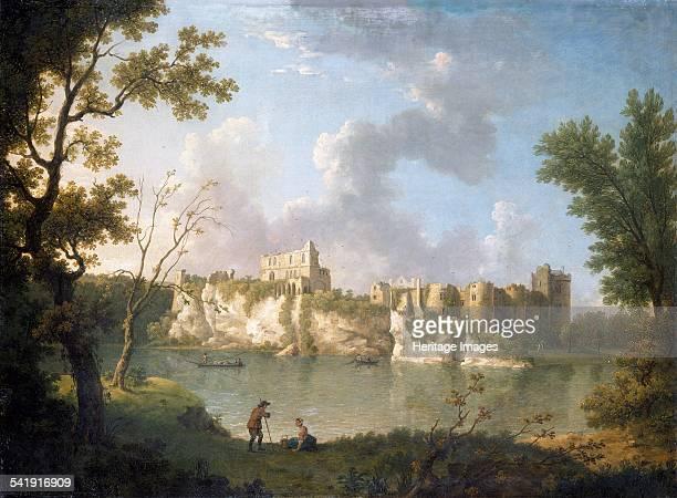 Chepstow Castle' c1770s Artist John Inigo Richards