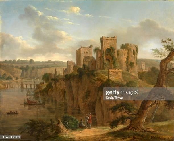 Chepstow Castle Hendrik Frans de Cort 17421810 German