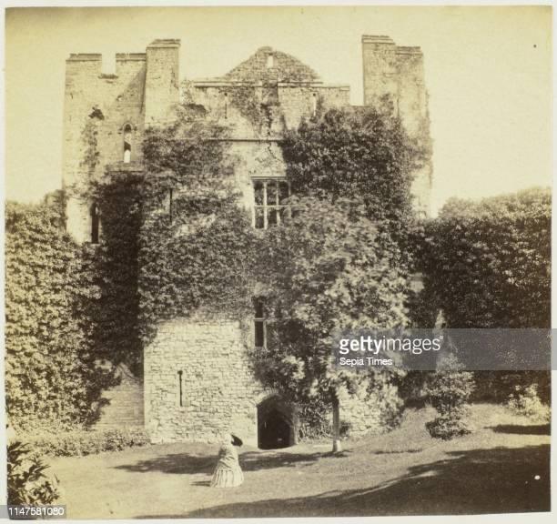 Chepstow Castle Marten's Tower Francis Bedford c 1855 c 1862