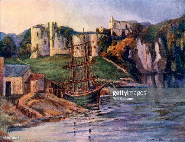 Chepstow Castle Monmouthshire Wales 19241926 The construction of Chepstow castle began shortly after the Norman invasion and was overseen by William...