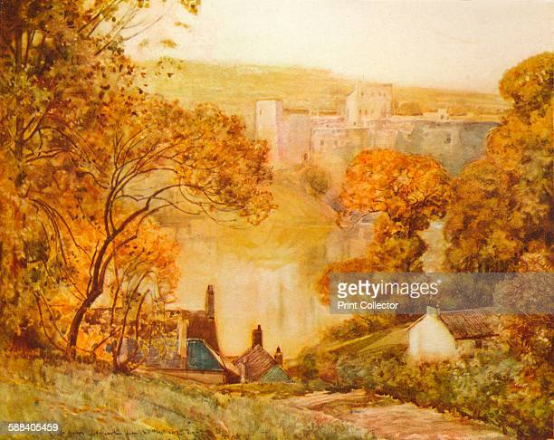 Chepstow Castle On The Wye' 1910 From The Studio Volume 50 Artist Alfred Edward East