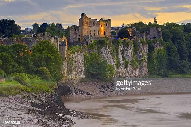 chepstow castle - chepstow castle stock pictures, royalty-free photos & images