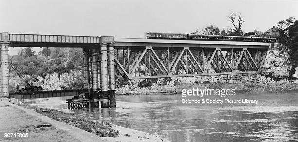 Chepstow Railway Bridge.