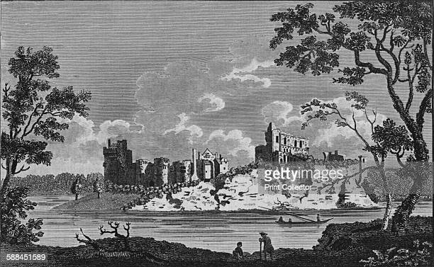 Chepstowe Castle' circa 19th century The construction of Chepstow castle began shortly after the Norman invasion and was overseen by William the...