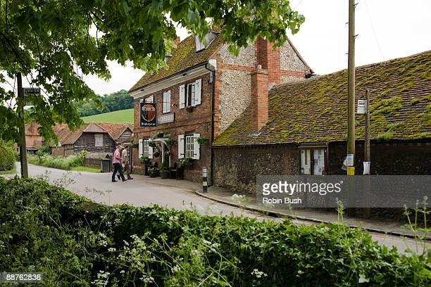 Chequers Pub, Fingest vilage, Chilterns, Buckinghamshire, UK