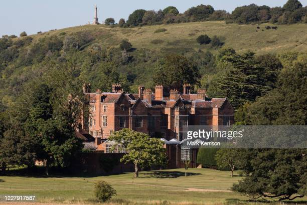 Chequers, the country residence of the Prime Minister of the United Kingdom, is pictured on 30th July 2020 in Ellesborough, United Kingdom. Built in...