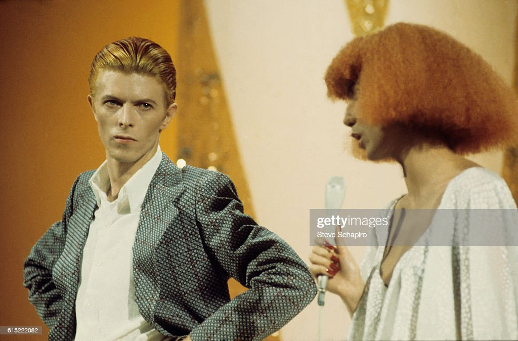 cher and david bowie on the cher show news photo getty images