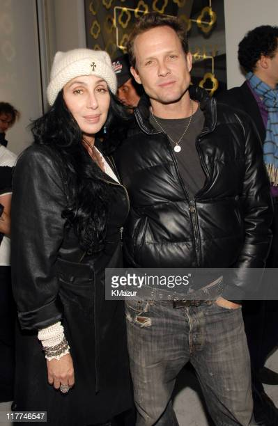 Cher and Dean Winters during Private Art Opening Celebrating the Launch of Visionaire's Latest Issue Visionaire 48 MAGIC at Visionaire Gallery in New...