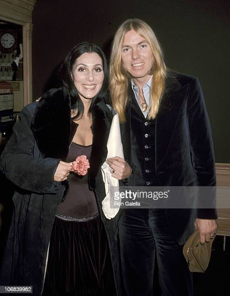 Cher and Gregg Allman at the Georgetown Inn on Wisconsin Avenue in Georgetown