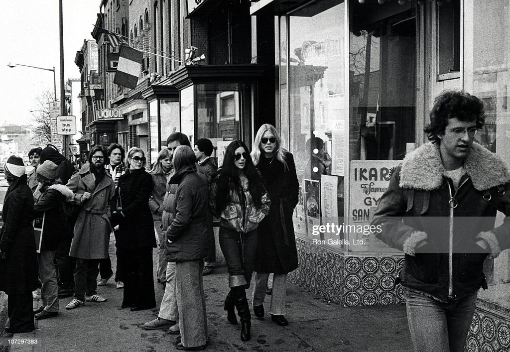 Cher and Gregg Allman on Wisconsin Avenue in Georgetown