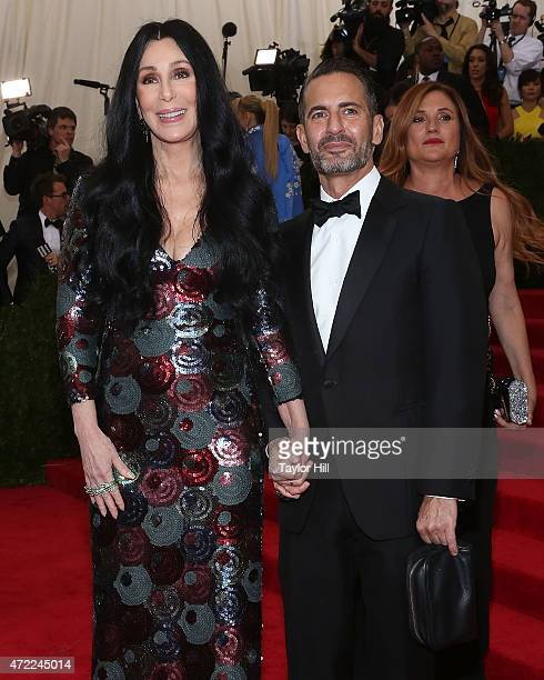 Cher and Marc Jacobs attend China Through the Looking Glass the 2015 Costume Institute Gala at Metropolitan Museum of Art on May 4 2015 in New York...