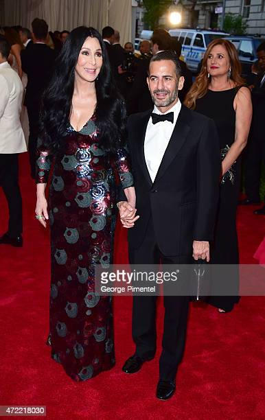 Cher and Marc Jacobs attend the 'China Through The Looking Glass' Costume Institute Benefit Gala at Metropolitan Museum of Art on May 4 2015 in New...