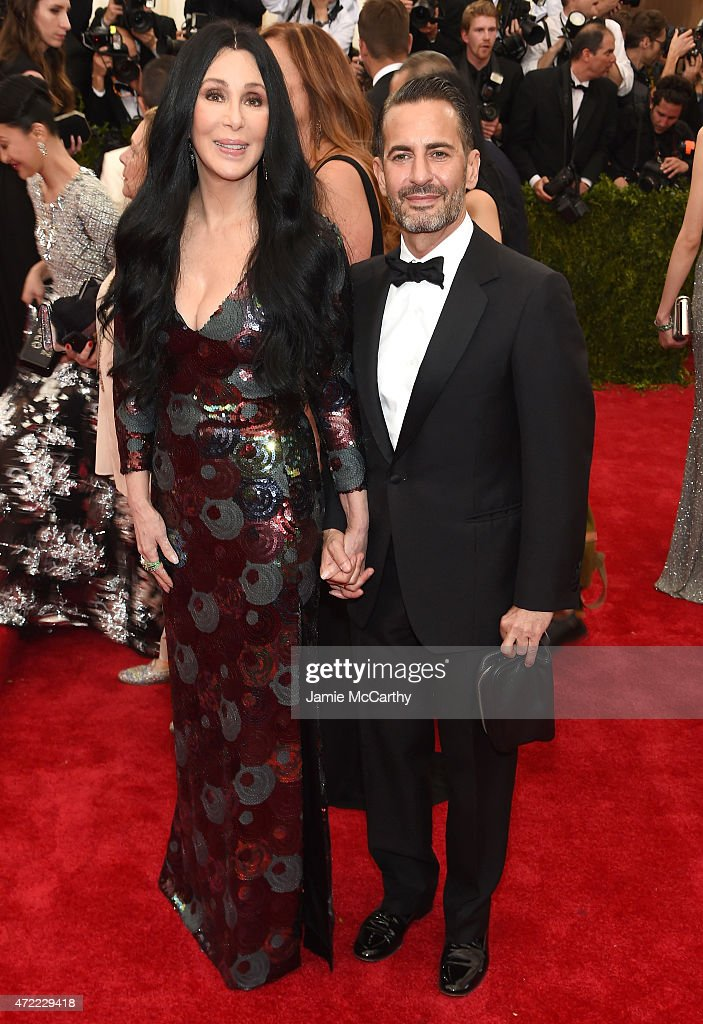 Cher and Marc Jacobs attend the 'China: Through The Looking Glass' Costume Institute Benefit Gala at the Metropolitan Museum of Art on May 4, 2015 in New York City.