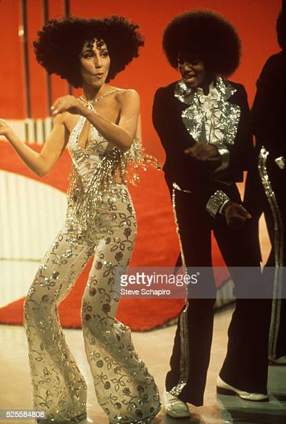 Cher and Michael Jackson dance on the Sonny and Cher Comedy Hour