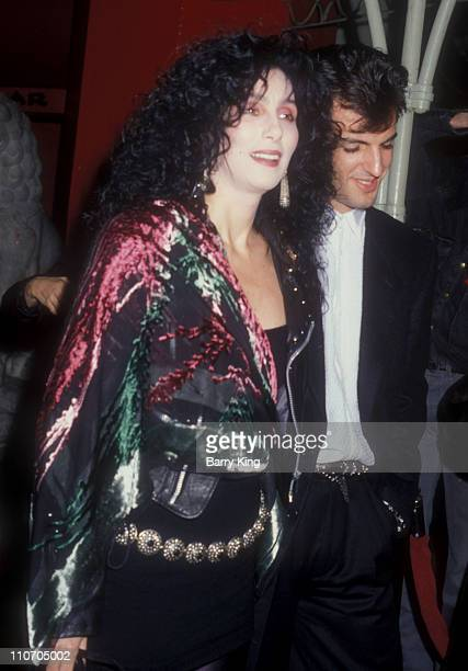 Cher and Rob Camilletti during 'Scrooged' Premiere in Los Angeles California United States