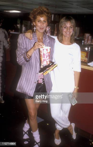 Cher and sister Georganne LaPiere during The Last Starfighter Los Angeles Premiere Arrivals at Plitt Theatre in Century City California United States