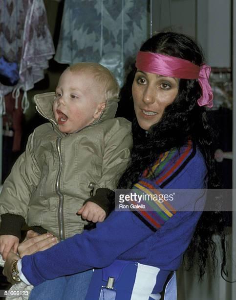 Cher and son Elijah Blue Allman
