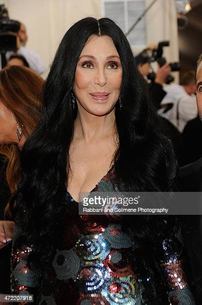 Cher arrives at China Through The Looking Glass Costume Institute Benefit Gala at the Metropolitan Museum of Art on May 4 2015 in New York City